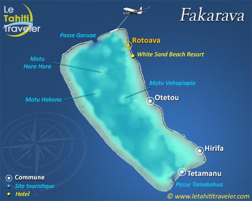 Carte de Fakarava