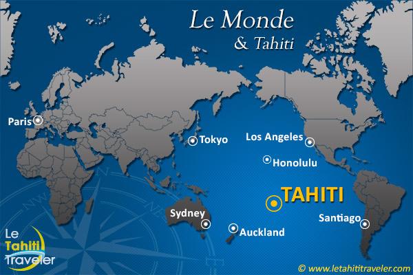 Tahiti dans le monde