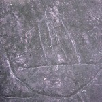 Omoa - petroglyph