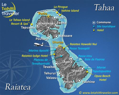 Carte de Tahaa