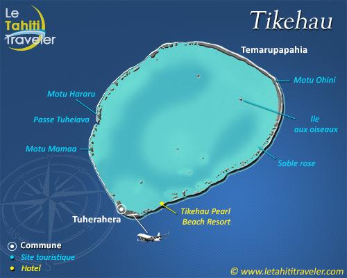 Carte de Tikehau