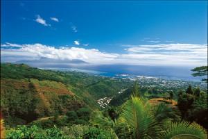 Le Belvédère vue sur Papeete - © D.Hazama