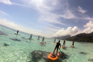 Aventure en Paddle Board à Moorea