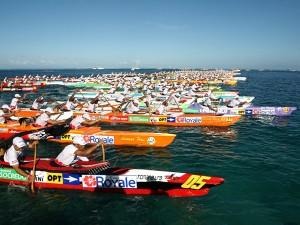 Départ de la course © Tahiti Tourisme - G.Boissy