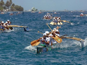 En plein effort © Tahiti Tourisme - C.Durocher