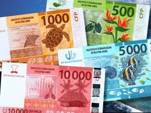 Nouveaux billets en Polynésie française