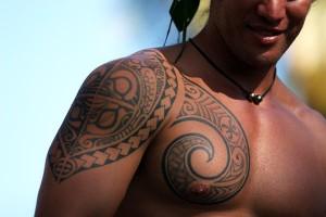 Tatouage polynésien © G.LeBacon