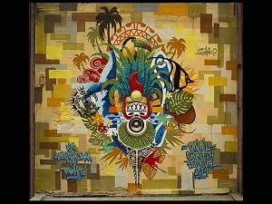Graffe réalisé à Amsterdam pour le festival