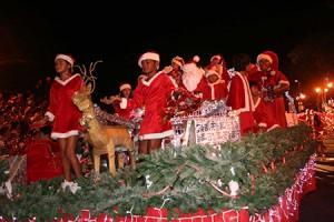 Parade de Noël © Mairie de Papeete