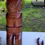 Tiki in Atuona - Hiva Oa