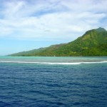 From the Ferry - Moorea