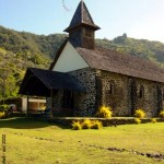 Church in Taaoa - Hiva Oa